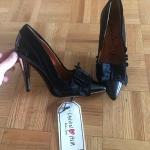 BNWT lanvin x H&M heels size 7